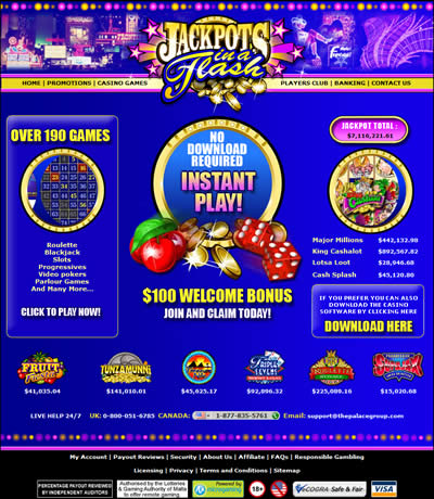 Flash casinos no deposit bonuses phone gambling